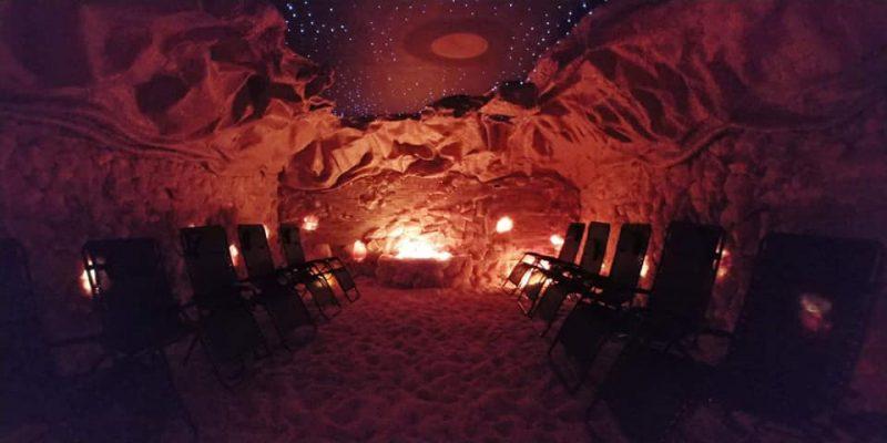 Halo Salt Cave